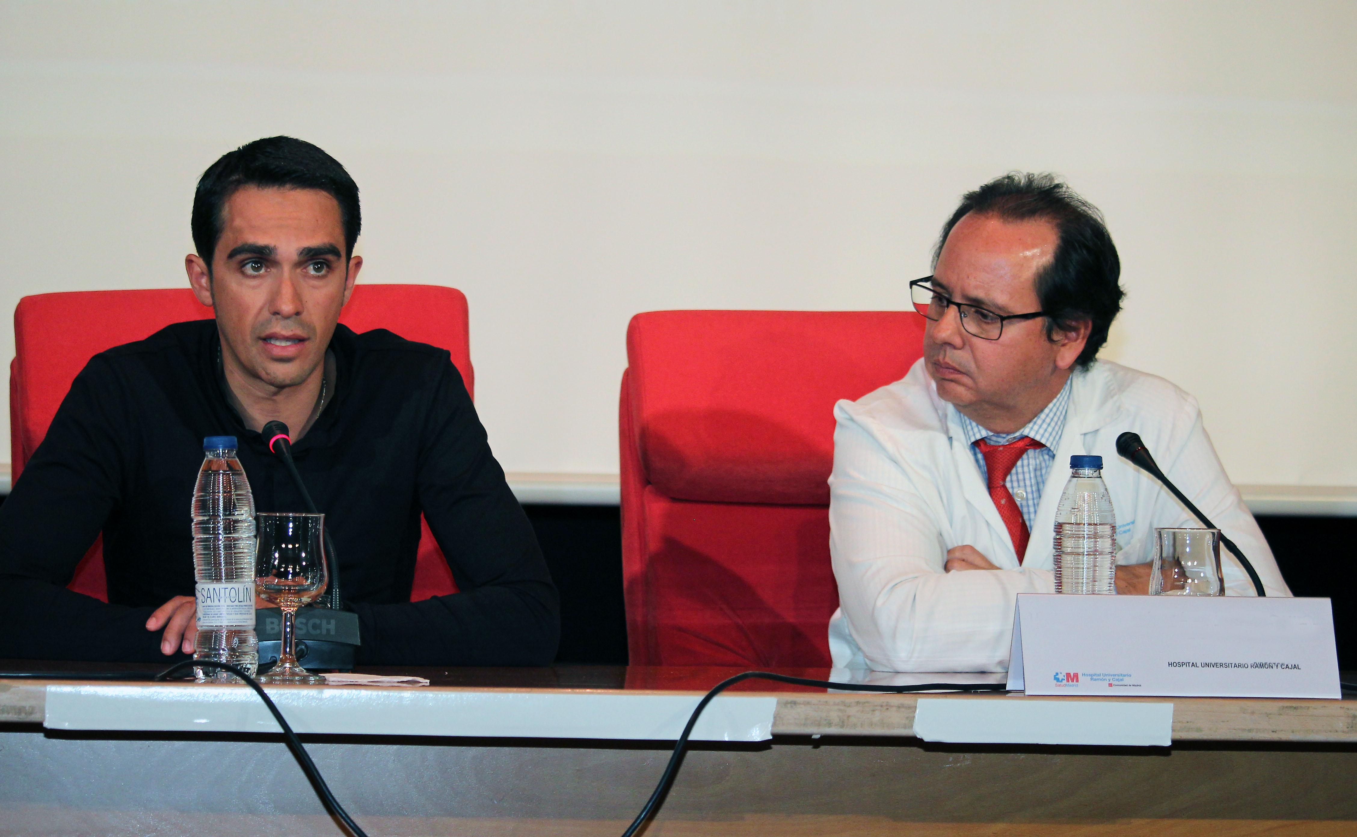 A.Contador & Dr. Jaime Masjuan
